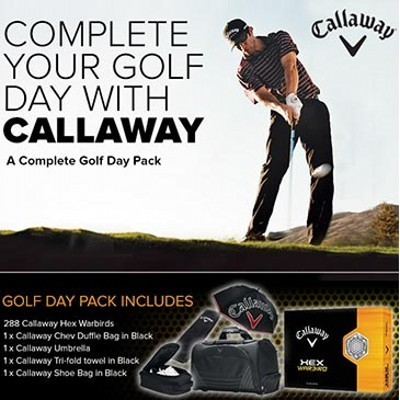 Callaway Golf Day Pack - (printed with 1 colour(s)) CSP-CHW500_DGOLF