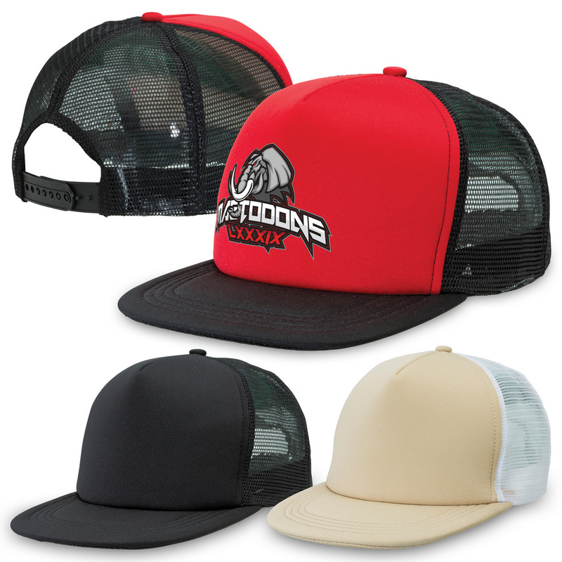 Flat Peak Trucker 4384_LEGEND