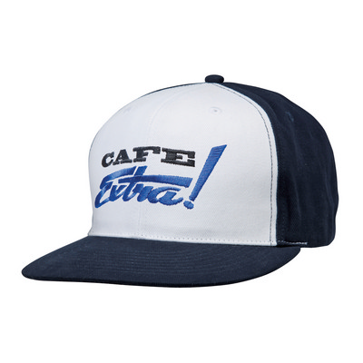CAP WITH FLAT PEAK