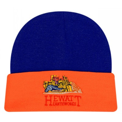 Luminescent Safety Acrylic Beanie - 2 Tone 3027_HDW