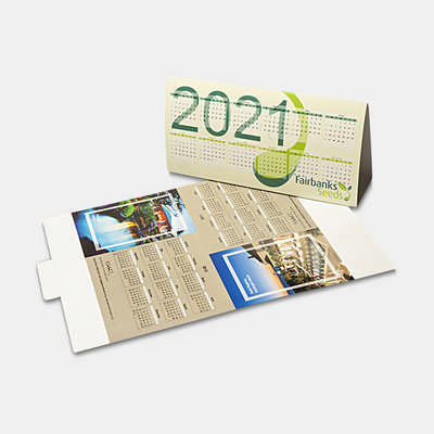 Desk Calendar - (printed with 1 colour(s)) CL104_PB