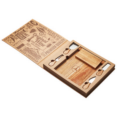 St. Andrews Magnetic CheeseBoard & Knife Set 10 Day Service - (printed with 1 colour(s)) D388-10_PB