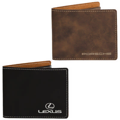 AGRADE Slim Fold Wallet  - (printed with 1 colour(s)) EX103_PB