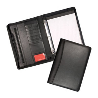 Cambridge Leather 3 Ring Compendium border=