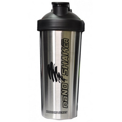 PROT04 Metal Protein Shaker 750ml - (printed with 1 colour(s)) PROT04_OC