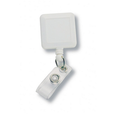 Square Retractable Badge Holder 199WH_NOTT