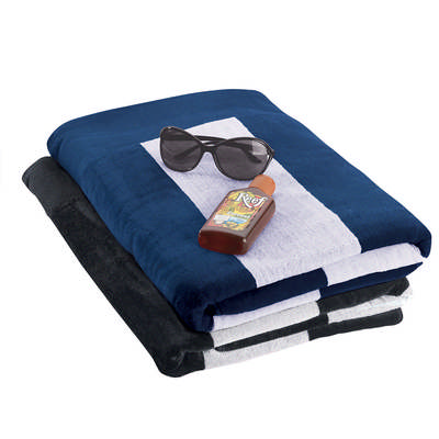 Beach Towel - Black 4245BK_NOTT
