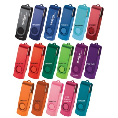 Rotate 2Tone Flash Drive (10-12 Day) 16Gb - (printed with 1 colour(s)) USB7860_2Tone_16G-10-12Day