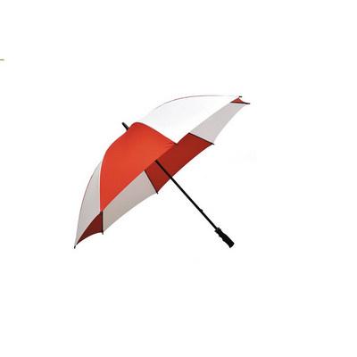Ariston Fairway Umbrella - Red / White - (printed with 1 colour(s)) FGU304_PPI