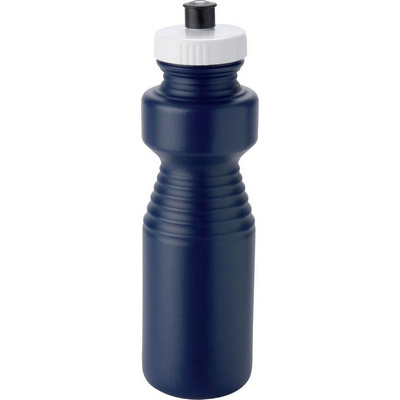 Ergonomic Drink Bottle 750ml Navy Blue - (printed with 1 colour(s))