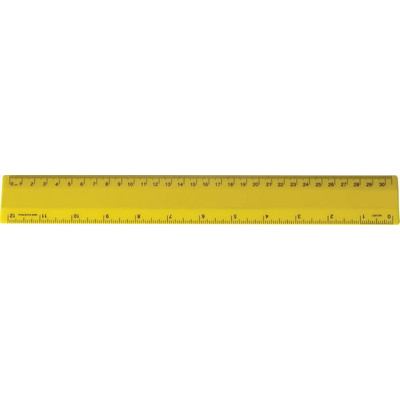 Ruler 30cm Special Yellow (NRYS) - (printed with 1 colour(s))