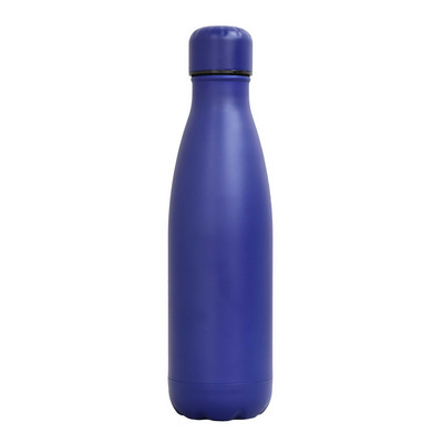 Sierra Stainless Steel Drink Bottle - Navy - (printed with 1 colour(s)) SRB04_PPI