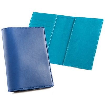 Deluxe Passport Wallet - (printed with 1 colour(s)) 4122_CC