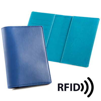 Deluxe Passport Wallet with RFID Protection - (printed with 1 colour(s)) 4122RFID_CC