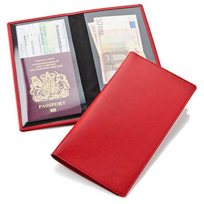 Economy Travel Wallet - (printed with 1 colour(s)) 9210_CC