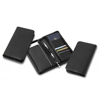 Deluxe Zip Travel Wallet TA84_CC