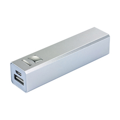 Alu Force - 2600 mAh Power Bank - (printed with 1 colour(s)) CM5111-2600_PROMOITS