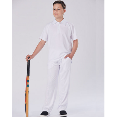 Kids CoolDry Polyester Cricket Pants CP29K_win