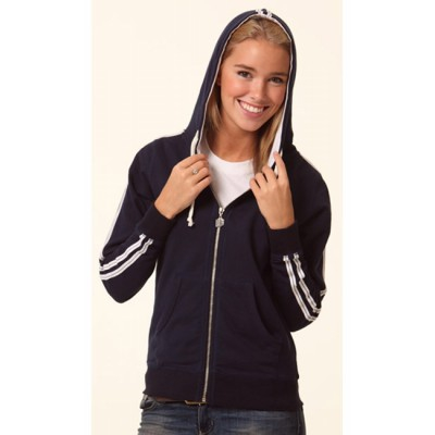 Ladies Contrast French Terry Hoodie FL24_win