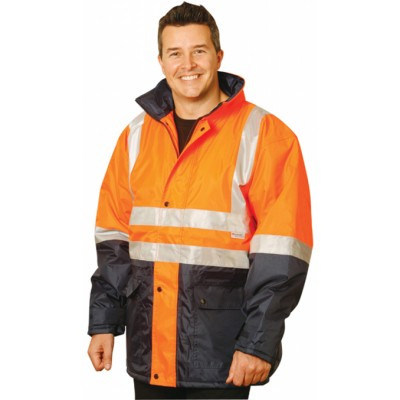 High Visibility Two Tone Jacket with 3M Reflective Tapes SW28_win