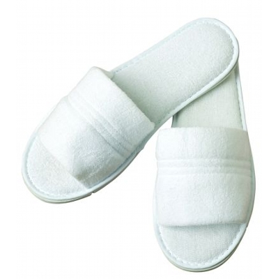 Spa Bathroom Slippers Ribbed AC147_SIM