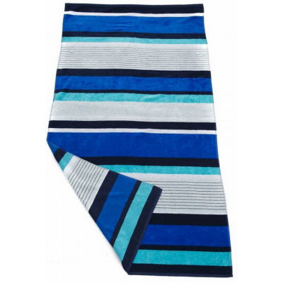 Bright Stripe Beach Towel BS128_SIM