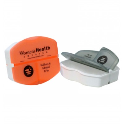 3 Compartment Pill Box - Includes Decoration MED110_SKIN