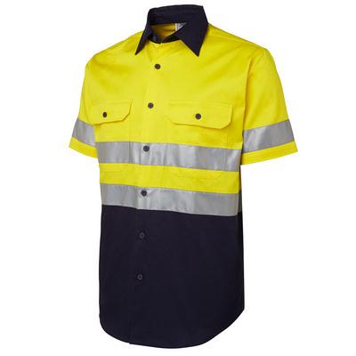 JBs Hi Vis (D+N) S/S 190G Shirt 6HSS_JBS