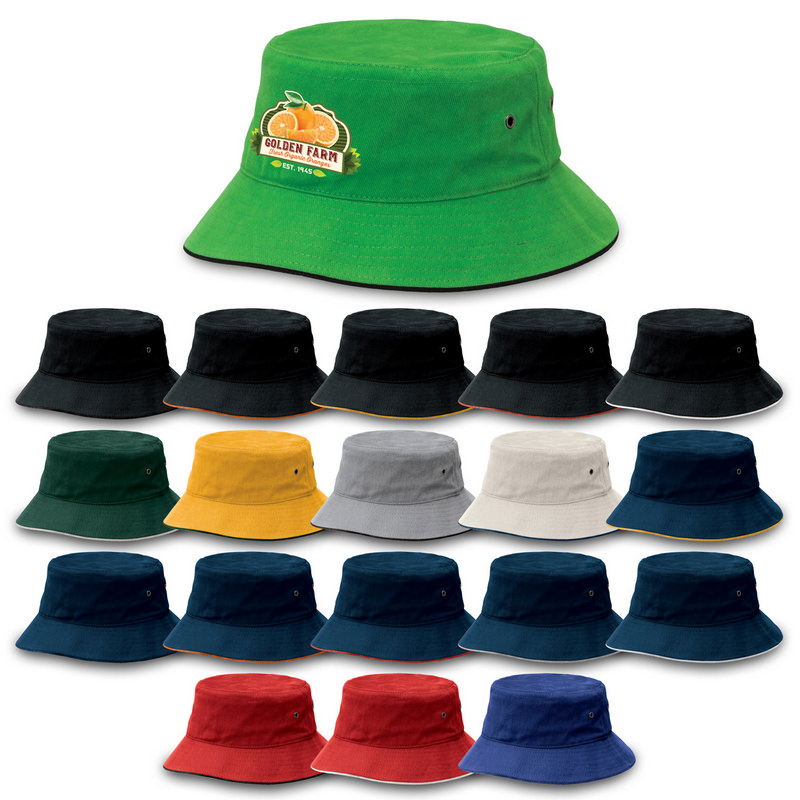 Sandwich Brim Bucket Hat 4007_LEGEND