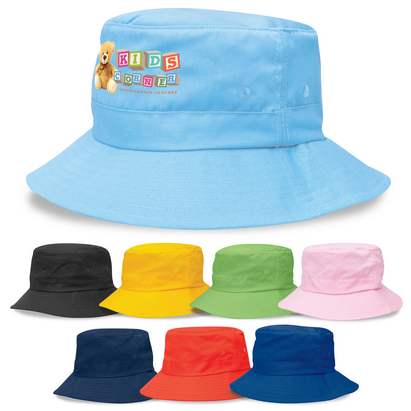 Kids Twill Bucket Hat w/Toggle 4363_LEGEND