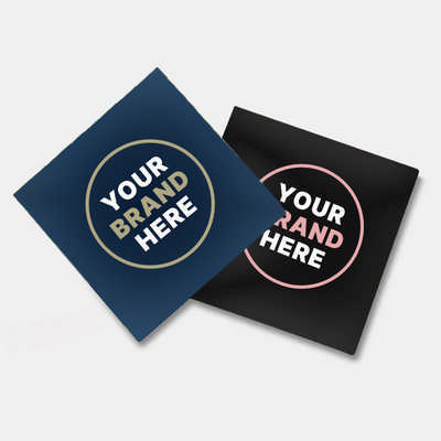 Gloss Paper Sticker (75 x 75 mm) - (printed with 1 colour(s)) GPS101_PB