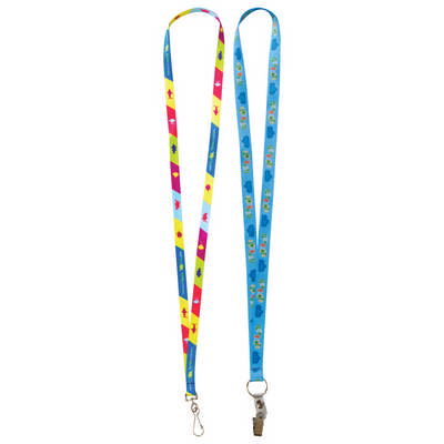 13mm Custom Lanyard - (printed with 1 colour(s)) L131.13_PB