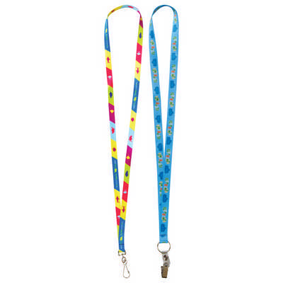 19mm Custom Lanyard - (printed with 1 colour(s)) L131.19_PB