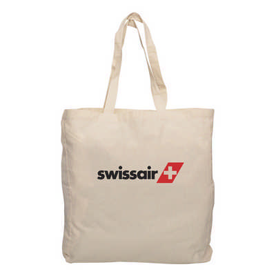 Calico Tote Bag with Gusset - (printed with 1 colour(s)) RB1019_PB