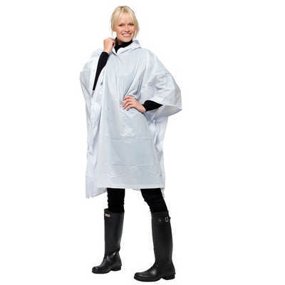 Game Day Poncho 5050WH_NOTT