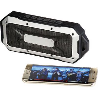 Boulder Waterproof Outdoor Bluetooth Speaker 7691BK_NOTT