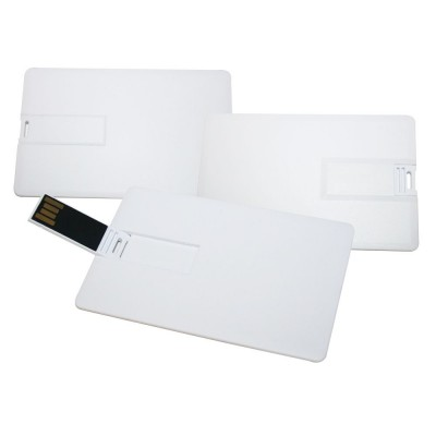 Super Slim Credit Card USB (10-12 Day) 16Gb