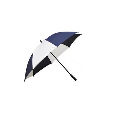 Ariston Fairway Umbrella - Navy / White - (printed with 1 colour(s)) FGU303_PPI