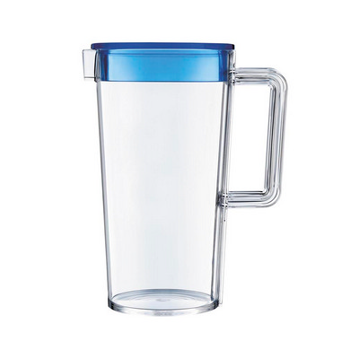 1.3Lt Jug - Blue Lid - (printed with 1 colour(s)) PM333SD_PPI