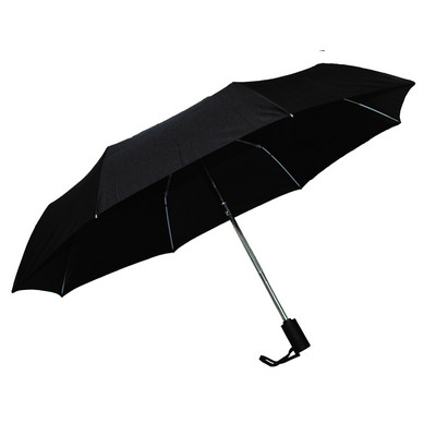 Ariston Kompakt Umbrella - Black - (printed with 1 colour(s)) KU202_PPI