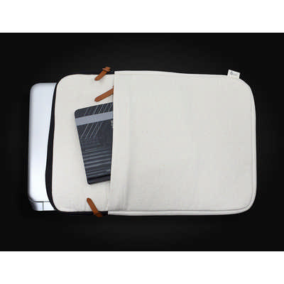 Calico 15 Laptop Sleeve 27.5cm x 40cm x 3cm - (printed with 1 colour(s)) Stufflb15_PREMIER
