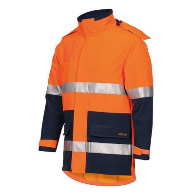JBs Hi Vis (D+N) Soft Shell Industry Jacket 6DIJ_JBS