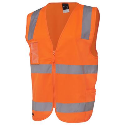 JBs Hi Vis (D+N) Zip Safety Vest 6DNSZ_JBS
