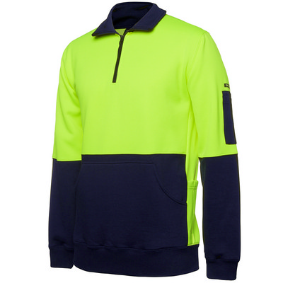JBs Hi Vis 330G 1/2 Zip Fleece 6HVPZ_JBS